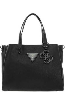 Черная сумка с логотипом Guess