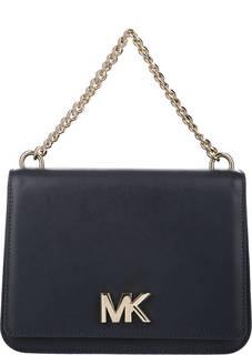 Кожаная сумка через плечо с короткой ручкой Mott Michael Kors