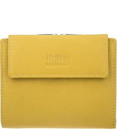 Кожаный кошелек с тремя отделами для купюр Mano