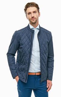 Легкая стеганая куртка с застежкой на молнию и кнопку Selected