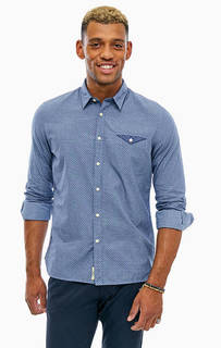 Хлопковая рубашка с карманом Pepe Jeans