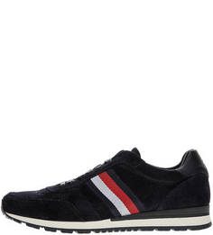 Синие замшевые кроссовки Tommy Hilfiger