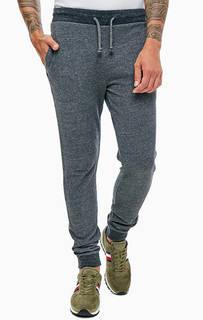 Серые хлопковые брюки джоггеры в спортивном стиле Napapijri