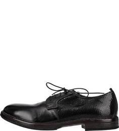 Туфли из натуральной кожи с тиснением Moma