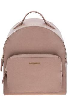 Рюкзак из сафьяновой кожи с тонкими лямками Clementine Coccinelle