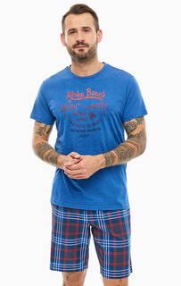 Домашний комплект из футболки и шорт Jockey