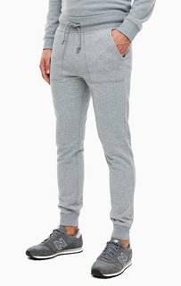 Серые хлопковые брюки джоггеры Napapijri