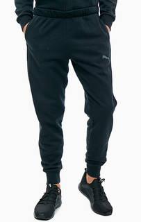 Хлопковые брюки джоггеры с принтом Puma