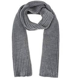 Серый шарф с высоким содержанием шерсти Canoe