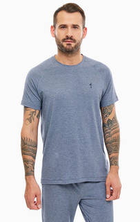 Домашняя футболка синего цвета Jockey
