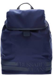 Текстильный рюкзак с откидным клапаном Trussardi Jeans