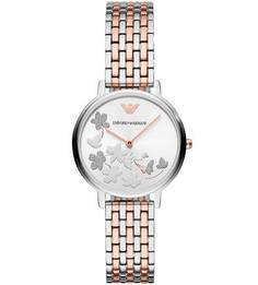 Кварцевые часы с металлическим браслетом Emporio Armani