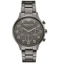 Часы-хронограф с металлическим браслетом DRESS SPORT Kenneth Cole
