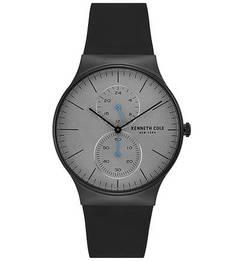 Кварцевые часы с силиконовым браслетом SLIM Kenneth Cole