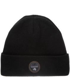 Трикотажная шапка с нашивкой Napapijri