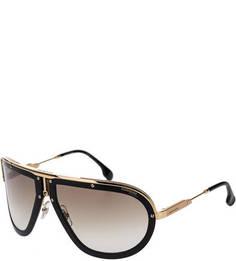 Пластиковые очки с металлическими вставками Carrera