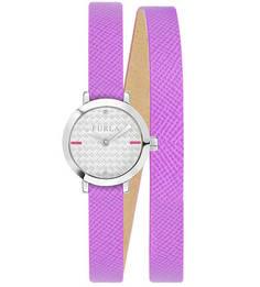 Влагоустойчивые часы с длинным кожаным браслетом Vittoria Furla