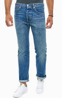 Зауженные джинсы с заломами 501® Original Levis
