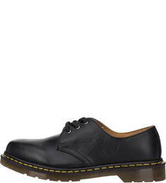 Кожаные ботинки черного цвета Dr Martens