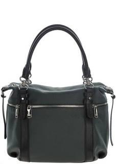 Кожаная сумка с дополнительным плечевым ремнем Fiato