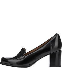 Черные туфли из натуральной кожи Tarah Grace Clarks