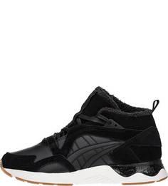 Зимние кроссовки черного цвета Asics