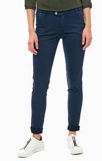 Хлопковые брюки чиносы Kocca
