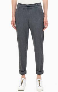 Зауженные брюки серого цвета Stefanel