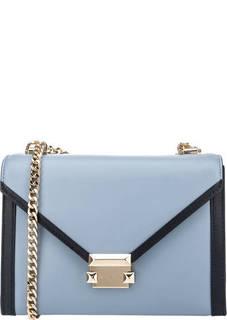 Кожаная сумка через плечо Whitney Michael Kors