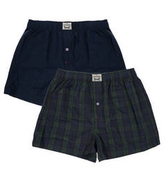 Комплект из двух хлопковых трусов-шорт Levis