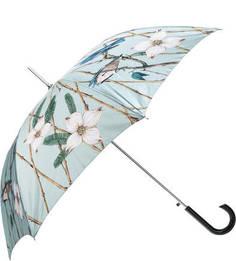 Зонт-трость с сатиновым куполом Alena Akhmadullina Goroshek