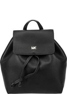 Кожаный рюкзак с откидным клапаном Junie Michael Kors
