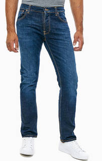 Джинсы зауженного кроя Dude Dan Nudie Jeans
