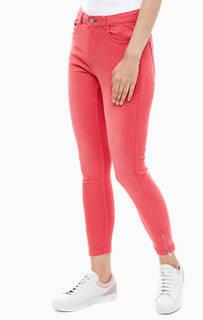 Зауженные джинсы цвета фуксии Lola B.Young