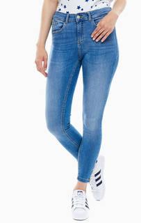 Зауженные синие джинсы со стандартной посадкой Lola B.Young