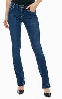 Зауженные джинсы с заломами Repot Liu Jo