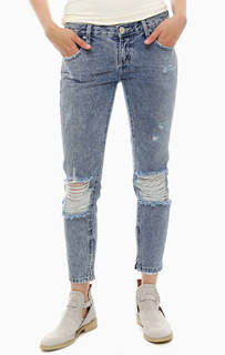 Рваные укороченные джинсы Freebirds One Teaspoon