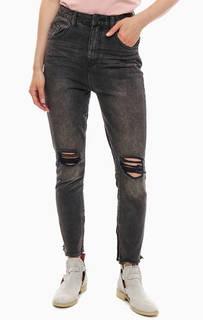Рваные джинсы с высокой посадкой Freebirds One Teaspoon