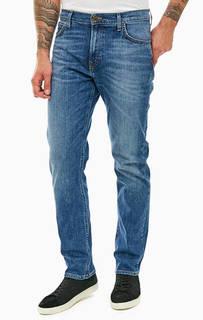 Синие джинсы с заломами Morton Lee
