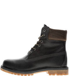 Черные ботинки из натуральной кожи Timberland