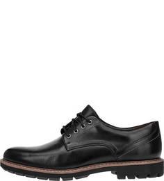 Черные ботинки из гладкой кожи Batcombe Hall Clarks