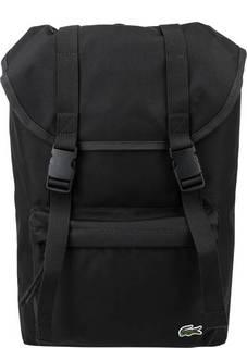 Текстильный рюкзак с откидным клапаном Lacoste