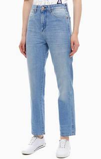 Укороченные синие джинсы прямого кроя Retro Straight Wrangler