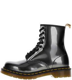Высокие демисезонные ботинки на шнуровке Dr Martens