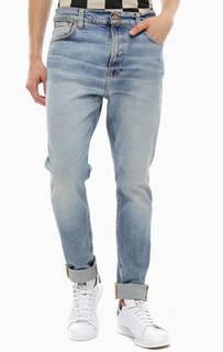Зауженные джинсы с заломами Brute Knut Nudie Jeans