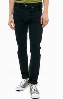 Черные джинсы с застежкой на болты Grim Tim Nudie Jeans