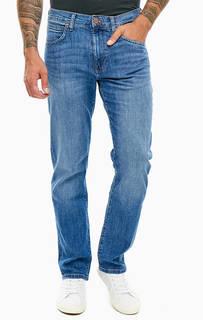 Прямые синие джинсы с заломами Arizona Wrangler