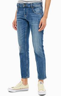 Рваные джинсы бойфренд со стандартной посадкой Slouchy Slim Mustang