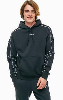 Черная толстовка из хлопка Adidas