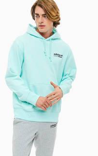 Хлопковая толстовка с капюшоном Adidas